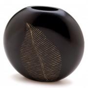 Vase-Carved Leaf