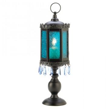 Candle Lantern - Exotic Azure
