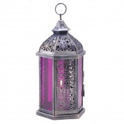 Candle Lamp-Fuschia
