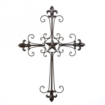 Cross - Fleur De Lis