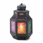 Candle Lantern - Rainbow