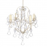 Chandelier-Ivory