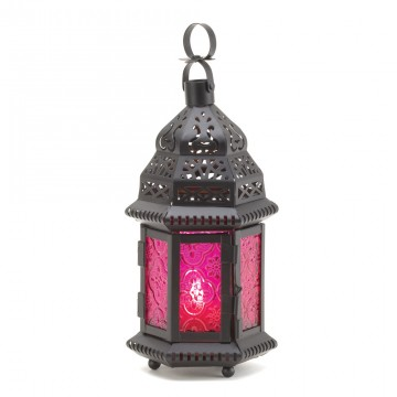 Candle Lantern -  Moroccan Style