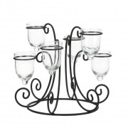 Candle Display-Wrought Iron