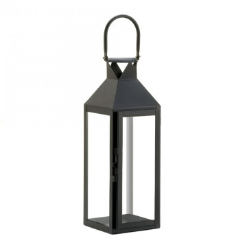 Candle Lantern - Sophisticated Black