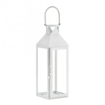 Candle Lantern - Sophisticated White