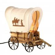 Table Lamp - Western Wagon