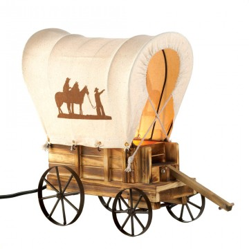 Table Lamp - Western Wagon