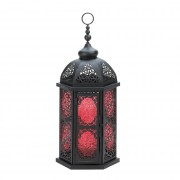 Candle Lantern - Spicy Red