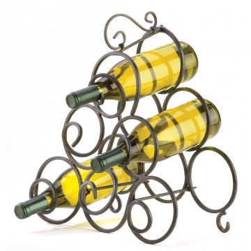 Wine Rack-Scrollwork