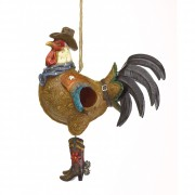 Animals - Rooster Birdhouse