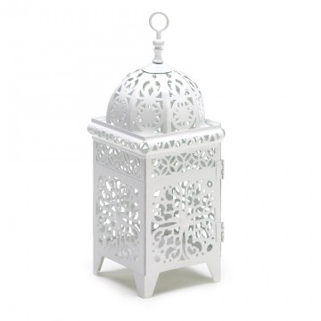 Candle Lantern-Floral