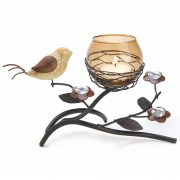 Tealight Holder-Partridge Nest