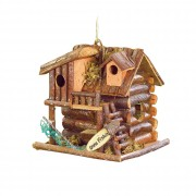 Birdhouse-Gone Fishin Cabin