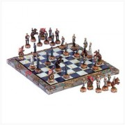Chess Set-Civil War