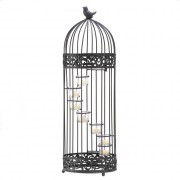 Candle Stand-Birdcage